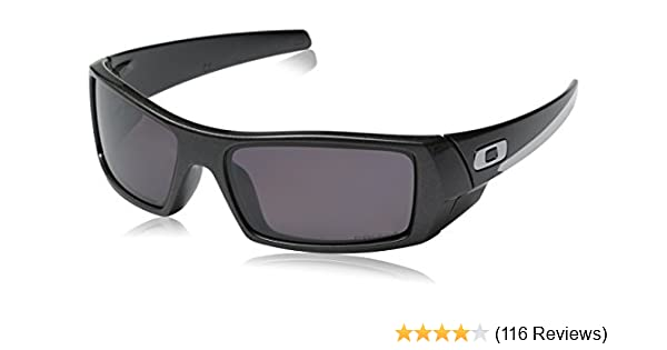 Amazon.com: Oakley Mens Gascan Polarized Rectangular Sunglasses, Granite /Prizm Daily, 60mm: Clothing