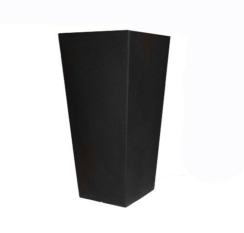 Tusco Products CTU26BK Cosmo Tall Planter, Black, ()