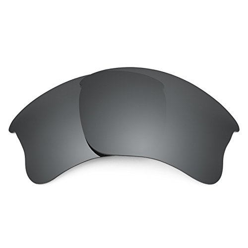 Revant Polarized Replacement Lenses for Oakley Flak Jacket XLJ Black Chrome - Flak Jacket