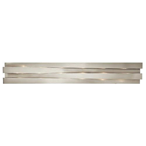 ELAN 83116 Marsimik Vanity Bath Wall 6 Light 240 Total Watts, Brushed Nickel