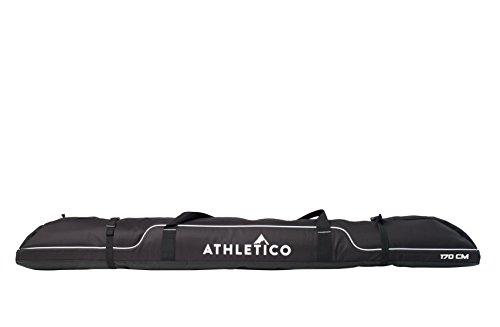 Athletico Diamond Trail Padded Ski Bag Single Ski Travel Bag to Transport Skis Up To 163cm