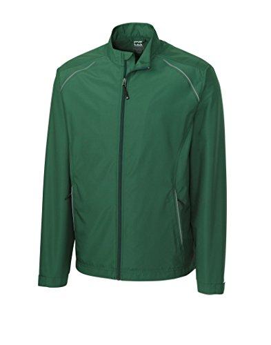 Cutter & Buck Big & Tall CB Weathertec Beacon Full-Zip Jacket (3XL, Green)