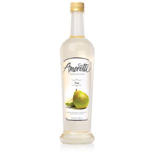 Amoretti Premium Syrup, Pear, 25.4 (Pear Syrup)
