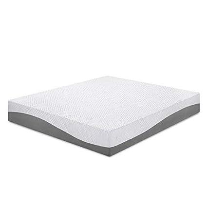 Amazon.com: Olee Sleep 10 in I Gel Layer Top Memory Foam Mattress (Twin): Kitchen & Dining