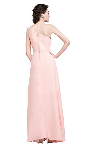 Shoulder Pink One Kleid Drasawee Damen Rosa 86qSEfO