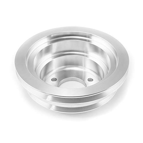 Procomp Electronics PCE239.1004 Chevy BBC 454 Billet Aluminum Long Water Pump Lwp 3 Groove Crank Pulley