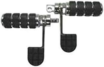 ISO Stirrup Chrome Foot Peg Set Harley Male Mount Sportster Dyna Chopper Softail