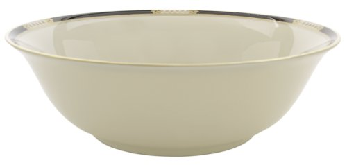 Lenox Hancock Gold-Banded Fine China Serving - Banded Serving Bowl China Ivory