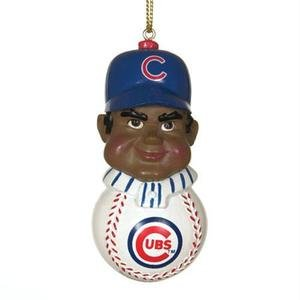 - Chicago Cubs African American Player Christmas Tree Ornament - MLB Baseball