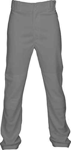 Double Knit Baseball Pant, Gray, Medium (Double Knit Softball Pant)