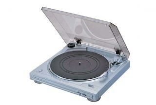 Denon DP29F Fully Automatic Turntable with Built-in MM Phono Preamp - Silver