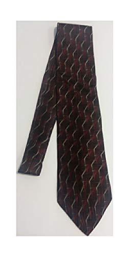 - Stafford Red and Gold Silk Necktie