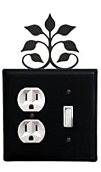 Leaf Fan Outlet&switch Cover 4.625in.w X 8in.h X 0in.d