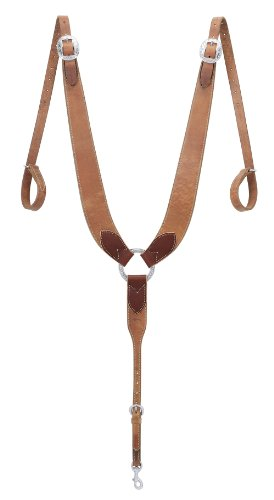 - Weaver Leather Pulling Breast Collar, Russet