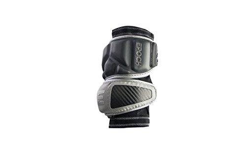 Int Elbow (Epoch Lacrosse Integra Elbow Caps for Defensemen (Medium) (Grey))