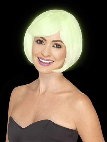Smiffys Women's Glow in The Dark Bob -