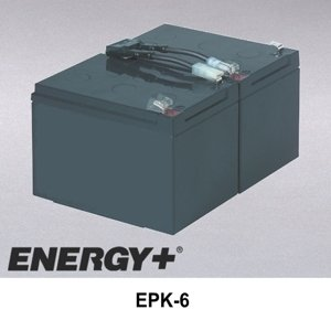 Complete Battery Cartridge BP1000, SU1000, SU1000BX120 EPK-6