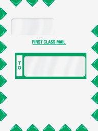 EGP Double Window Tyvek Expandable Mailing Envelope