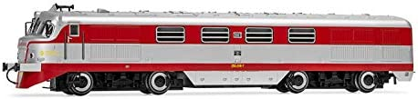 Period IV Electrotren E2327 RENFE with Armored Glass Diesel Locomotive Talgo 2008Virgen de la Soledad Original Livery Without Conditioned air