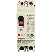 MITSUBISHI ELECTRIC NV63-CVF 2P 40A 30MA Earth-Leakage Circuit Breakers (Harmonic Surge Ready)(Economy class)(2 Poles)(Frame 50A)(Front connestion) NN