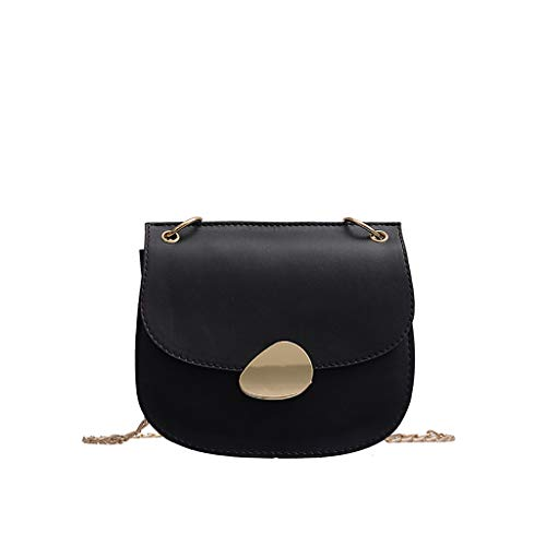 LUXISDE Women Wild Messenger Bag Fashion One-Shoulder Small Square Bag ()