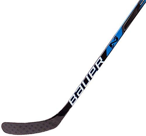Bauer 60LFTP92 H16 Nexus N 6000 INT Grip Hockey Stick, Black, Left Hand