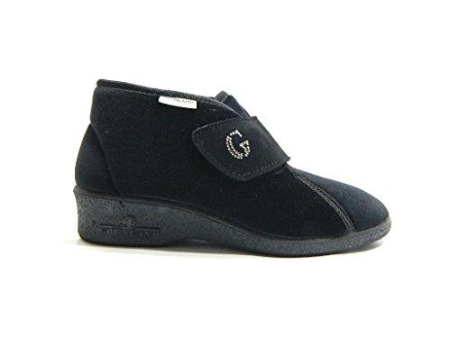 Grunland PA0172 Iole Pantofola Donna Nero iAm38up4