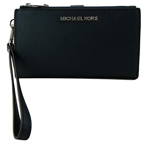 Michael Kors Women's Jet Set Travel Dbl Zip Wristlet
