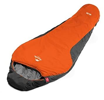 Naturehike Mummy Sleeping Bag - Gama de temperaturas de Confort de 41-48 ° F. Ultraligero para Mochila con Saco de compresión (Orange): Amazon.es: Deportes ...