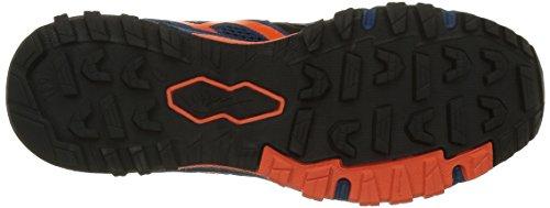 Asics Gel-Fujiattack 5, Zapatillas de Running para Asfalto para Hombre Varios Colores (poseidon/flame Orange/black)