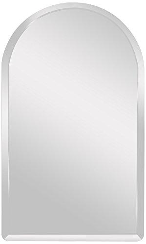 Spancraft Glass Arch Beveled Mirror, 18