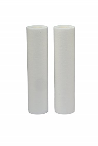 HDX HDX2BF4 Melt Blown Whole House Water Filter (2 pack): Reduces Sediment - 5 Micron Water Filter