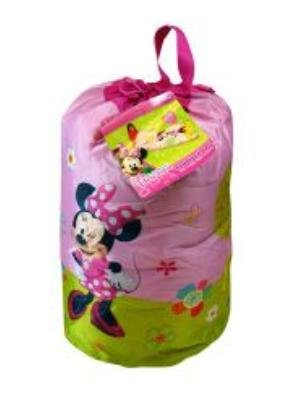 Minnie Bowtique Indoor Sleeping Bag in printed Drawstring Bag by Disney