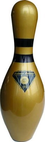 "ORIGINAL DIAMOND BOWLING PIN "" GOLD """