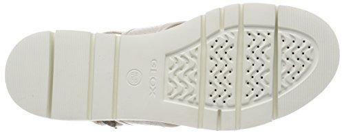 Radwa Sandales Cassé Plateforme Blanc D B Geox Femme White Off tw054y