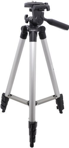 50' Inch Professional Tripod - Including CASE! - For all CAMERA/CAMCORER! NIKON D40 D40X D60 D80 D90 D3000 D5000 CANON REBEL D-SLR XT XS XTi T1i XSi 50D DCR-SR47 HC52 CX100 + Nearly Every CAMERA/CAMCORDER!