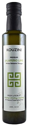 Kouzini White Jalapeno Lime Balsamic Vinegar (Limited time edition)