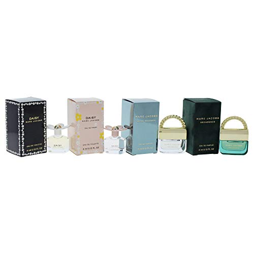 Marc Jacobs Variety Mini Perfume Kit for Women, 4 Count ()