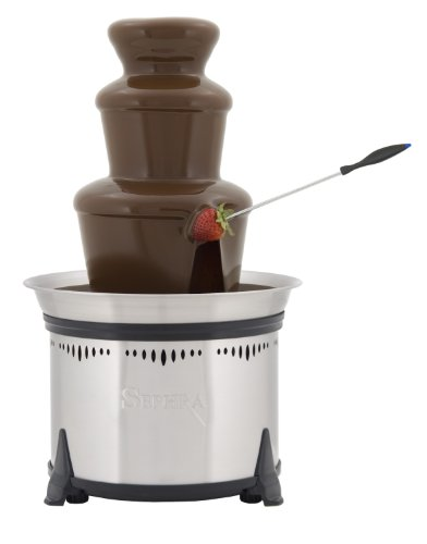 Sephra Classic 18 Inch Home Fondue Fountain (Chocolate Fountain Buffet compare prices)