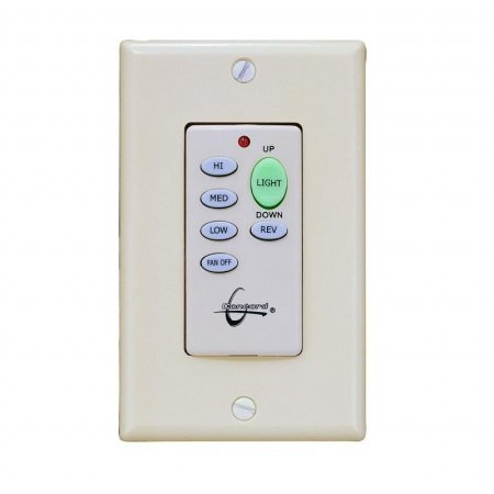 Wireless ceiling fan wall control unit in white ceiling fan wall wireless ceiling fan wall control unit in white aloadofball Image collections
