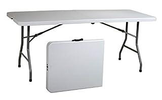 Office Star Resin Multipurpose Rectangle Table, 6-Feet, Center Folding (B0015TUXT8) | Amazon Products