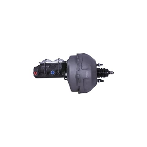 Cardone 50-1200 Remanufactured Power Brake Booster with Master Cylinder - Chrome Power Brake Booster