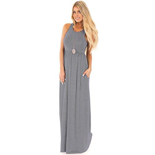 Gray Long Dress - 2