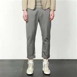Spring models] sketches Men croquis imitation days Sishu appropriate the pocket folds trousers 9113158