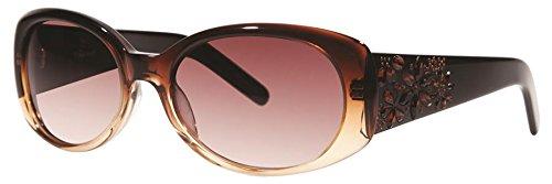 Vera Wang Luxe Perrine Sunglasses Mink 55 - Mink Sunglasses