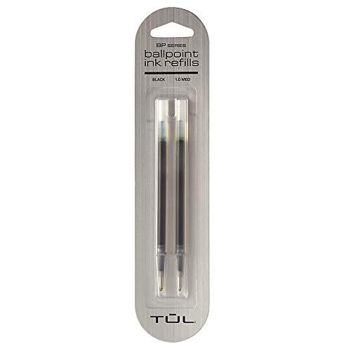 Office Depot Nearby (TUL Ballpoint Pen Refills, Medium Point, 1.0 mm, Black Ink, Pack of 2)