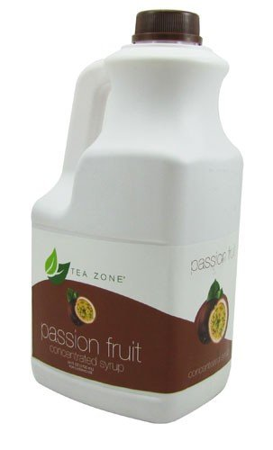 Passion Fruit Syrup Bubble Tea product image