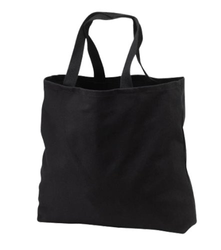 Port & Company Grocery Tote - Convention Tote - Black