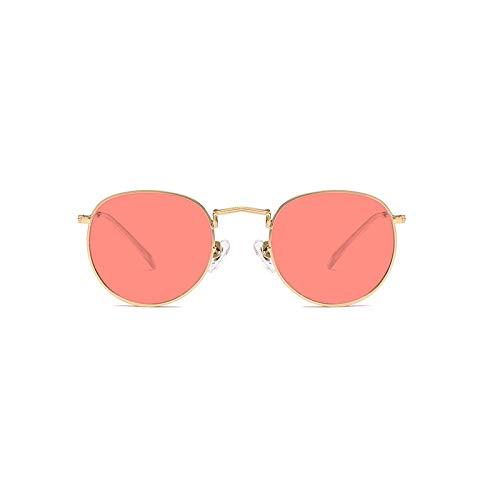 Film Lunettes Générique Rétro Pare soleil Mode De Sunglasses Nouveau Dames Couleur Soleil Métal Green Red couleur nvSwEvUq