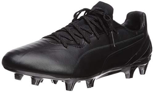 PUMA Men's King Platinum FG/AG Sneaker, Black White, 11 M US
